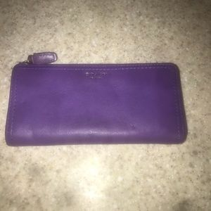 Coach Legacy Ultraviolet Slim ZIP Wallet
